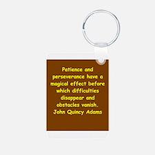 john quincy adams Keychains