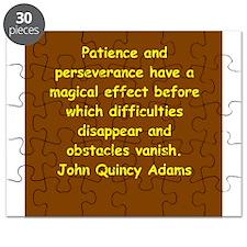 john quincy adams Puzzle