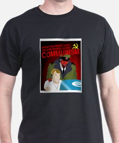 Downloading Communism T-Shirt