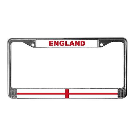 England World Flag License Plate Frame
