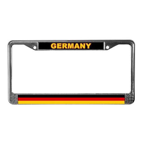 Germany World Flag License Plate Frame