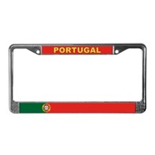 Portugal World Flag License Plate Frame