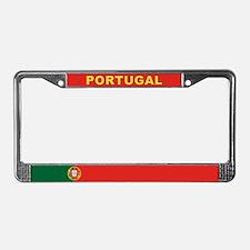 Portugal World Flag License Plate Frame