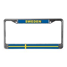 Sweden World Flag License Plate Frame