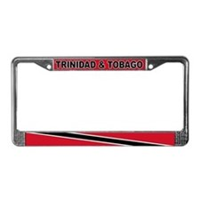 Trinidad and Tobago World Flag License Plate Frame