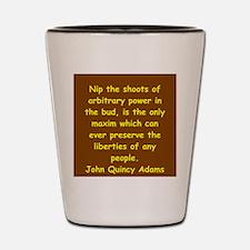 john quincy adams Shot Glass