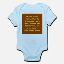 john quincy adams Infant Bodysuit