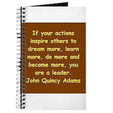 john quincy adams Journal