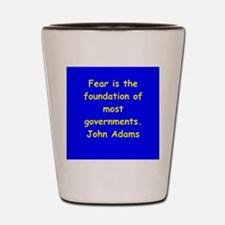 john adams Shot Glass