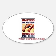 United Sticker (Oval)