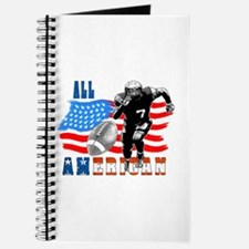 All American Football player Journal