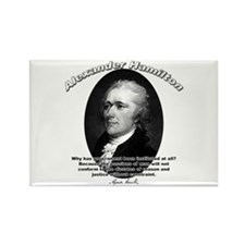 Alexander Hamilton 02 Rectangle Magnet