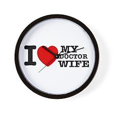 Doctor Wife Wall Clock
