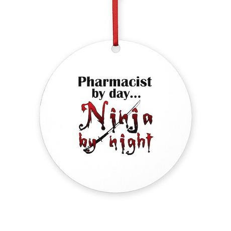 Pharmacist Ninja Ornament (Round)