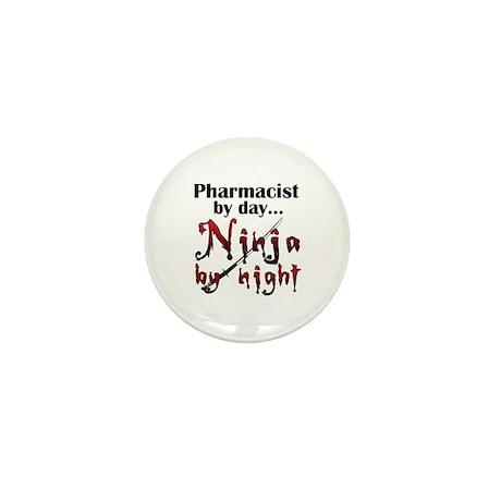 Pharmacist Ninja Mini Button (100 pack)