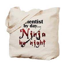 Scientist Ninja Tote Bag