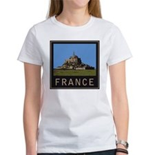 France Mont St. Michel Tee
