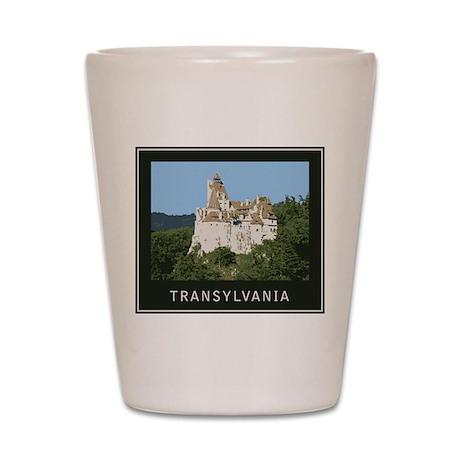 Transylvania Bran Castle Shot Glass