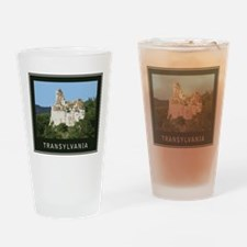 Transylvania Bran Castle Drinking Glass
