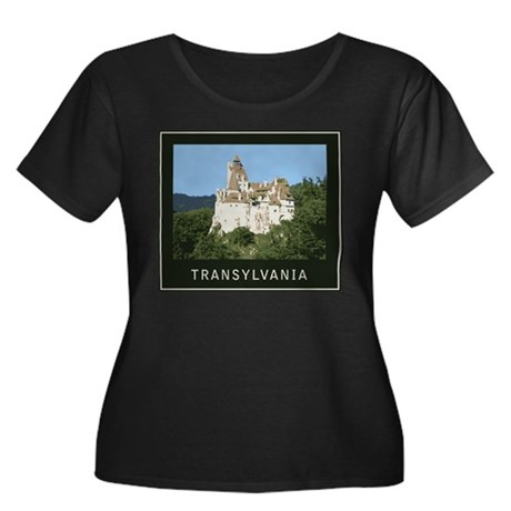 Transylvania Bran Castle Women's Plus Size Scoop N