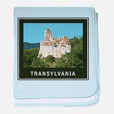 Transylvania Bran Castle baby blanket