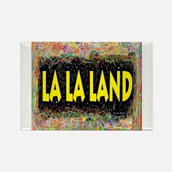 La La Land Life Rectangle Magnet