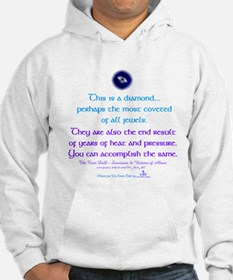 Cute Domestic violence support Hoodie
