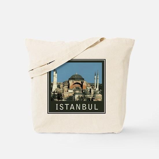 Istanbul Agia Sophia Tote Bag