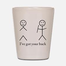 Humorous Shot Glass