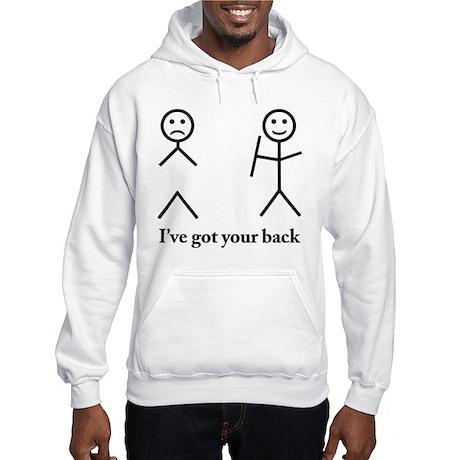 Humorous Hooded Sweatshirt