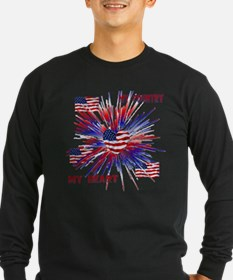 My_Country_My_Heart Long Sleeve T-Shirt