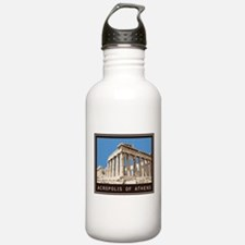 Acropolis of Athens Water Bottle
