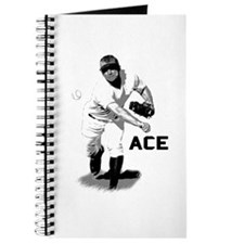 Baseball Ace Pitcher Journal