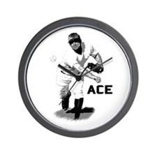 Baseball Ace Pitcher Wall Clock