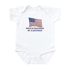 Unique Fifth army Infant Bodysuit