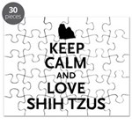 Keep Calm Shih Tzus Puzzle