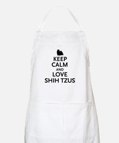 Keep Calm Shih Tzus Apron