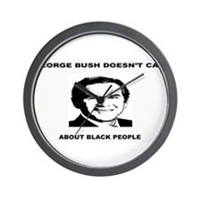 George Bush Doesn't Care Abou Wall Clock