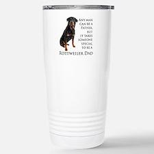 Rottie Dad Travel Mug