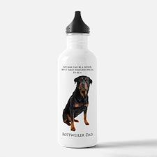 Rottie Dad Water Bottle