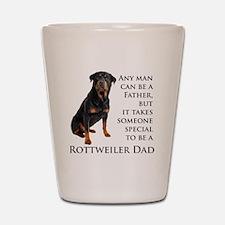 Rottie Dad Shot Glass
