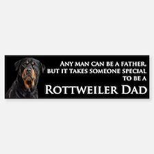 Rottie Dad Bumper Bumper Sticker