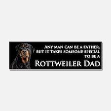 Rottie Dad Car Magnet 10 x 3
