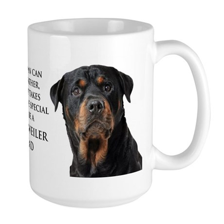 Rottie Dad Large Mug