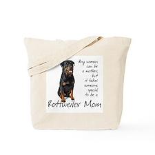 Rottweiler Mom Tote Bag
