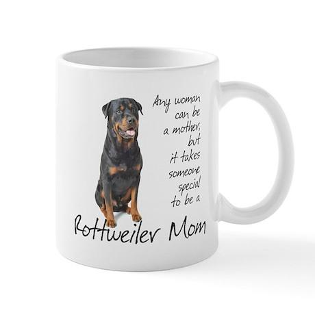 Rottweiler Mom Mug