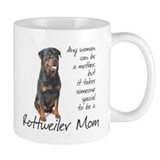 Rottweiler Mom Small Mugs
