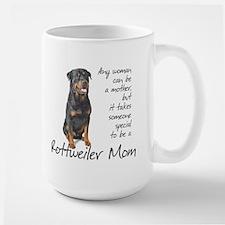 Rottweiler Mom Ceramic Mugs