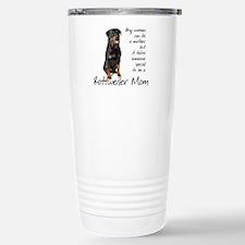 Rottweiler Mom Stainless Steel Travel Mug