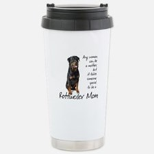 Rottweiler Mom Travel Mug